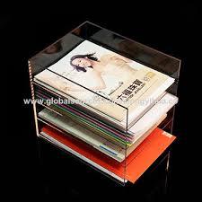 Magazine Holders Cheap China Cheap Best Selling Custom Transparent Acrylic Magazine Holders 22