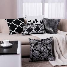 aliexpresscom  buy black pillow geometric cushions decorative