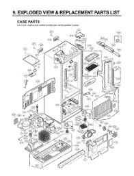 lg refrigerator parts diagram. section 1 parts for lg refrigerator lfx21980st / astclga from appliancepartspros.com lg diagram r