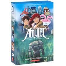 Книга amulet комплект из 3 книг kazu kibuishi купить на ozon amuletsbook 1