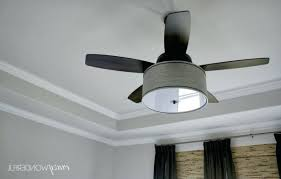 36 ceiling fan with light interior profitable drum shade linen kit s t lighting from inch flush