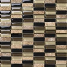 Small Picture Wholesale Natural Stone with Crystal Mosaic Tile Strip Bedroom