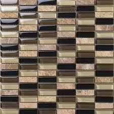natural stone with crystal mosaic tile strip sheet backsplash wall stickers bedroom kitchen washroom