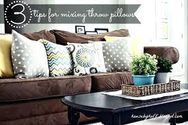 accent pillows for couch. Brilliant Accent Best Cozy Throw Pillows Couch Blue And White Accent Grey Gold Ive Large  Extra With For