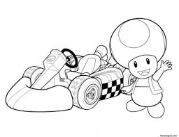Print Out Super Mario And Toad Coloring Pages Printable Coloring