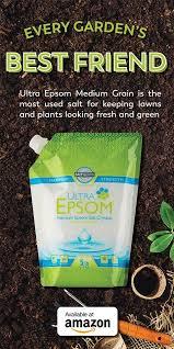 epsom salt gardening. Unique Gardening Ultra Epsom  Medium Grain Now Available On Amazon Intended Salt Gardening E