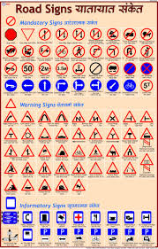 Road Signs Chart India Amazon In Buy Road Signs Chart 50 X 70 Cm Book Online