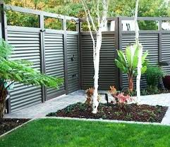 corrugated metal fence cost corrugated fence custom privacy fence built out of metal post tiger wood corrugated metal fence
