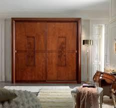 wood bypass closet doors