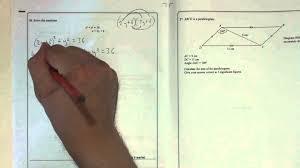 edexcel gcse paper 2 june 2016 question 26 simultaneous equations substitution you