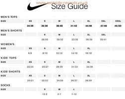 Nike Shoes Youth Size Chart Eastside Records Co Uk