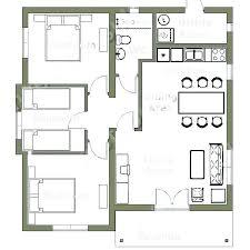smallest 3 bedroom house plan floor for impressive small three endearing plans bedrooms 1 bathroom full