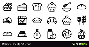 Bakery Lineal 30 Free Icons Svg Eps Psd Png Files