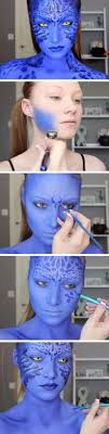 mystique x men makeup tutorial pic for 18 easy diy costumes for women last minute costumes for s