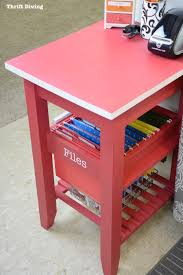 Repurposed How To Repurpose A Kitchen Cart And Get Organized