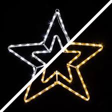 Led Stern Mit 72 Warmweißen Und Kaltweißen Leds