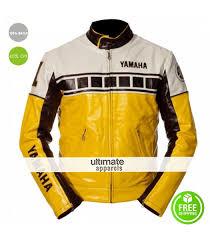 yamaha vintage yellow motorcycle riding jacket 169 00