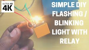 How To Make A Flashing Or Blinking Light With Relay Under 1 Or Rs 30