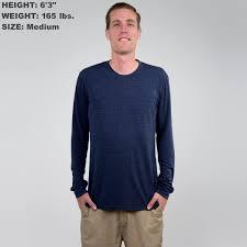 Original 50 50 Crew Neck Long Sleeve T Shirt Tallslim Tees