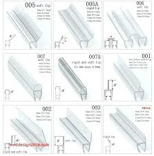 glass shower door plastic strip seal a useful function is served edge clear for show glass shower door plastic strip