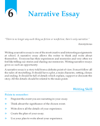 grade narrative essay composition writing skill page