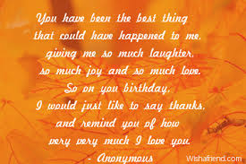 Birthday Quotes For Husband Inspiration Happy Birthday Husband Quotes