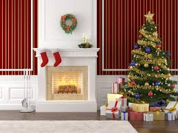 simple homes christmas decorated. Simple Design Designer Xmas Trees Antique Interior Christmas Decorated Houses. Garden Ideas. Stage Homes I