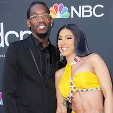 Pregnant Cardi B Shows Her, Offset's ...