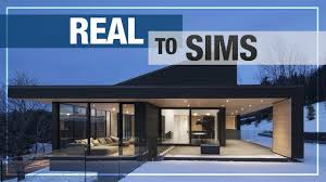 New House Download Real To Sims New Series Modern House No 1 No Cc Download Link