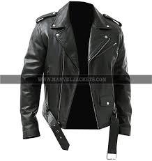 brando classic biker men slim fit motorcycle black genuine sheep leather jacket