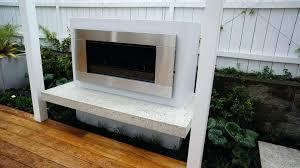 concrete outdoor fireplace place concrete block outdoor fireplace nz