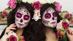 catrina diamond sugar skull make up tutorial melissa samways you