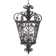 quoizel fq1920mk01 4 light fort quinn extra large hanging outdoor pendant view larger