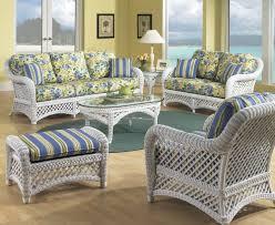 Wicker Living Room Chair Wicker Rattan Bedroom White Furniture With Luvskcom