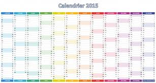 calendrier excell calendrier 2015 simple