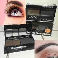 nyx makeup eyebrows. nyx eyebrow powder cake 2 colors nyx makeup eyebrows s