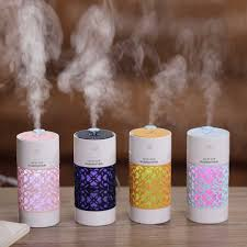 Portable Mini <b>Humidifier Pull</b> Out Ultrasonic Aroma Air Diffuser With ...