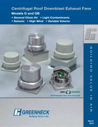 centrifugal roof exhaust fans 1 52 pages