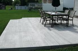 backyard concrete ideas patio designs patios with fire pits suitable plus borders and decks cement r95
