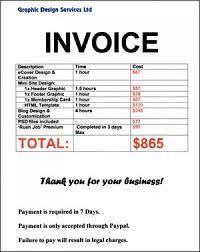Prepare Invoice Classwork Series And Exercises Business Studies Jss3 Preparation
