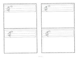 Blank Flash Cards Template Template For Flashcards