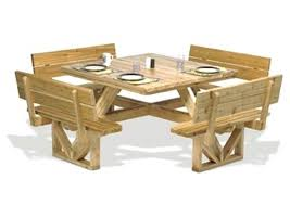 round picnic table plans s traditional 8 foot diy with cooler octagonal nz round picnic table plans