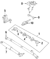 parts com® toyota pickup steering gear linkage oem parts 1992 toyota pickup dlx v6 3 0 liter gas steering gear linkage