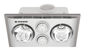 mercator bs022cswsl lava duo 2 x heat 2 x light fan bathroom heater silver mercator