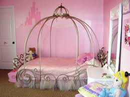 Princess Canopy Toddler Bed for Girls — Ccrcroselawn Design ...