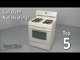 frigidaire oven not working. Delighful Working Top 5 Reasons Gas Oven Wonu0027t Heat Inside Frigidaire Not Working I