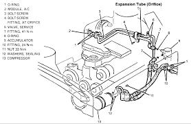 where is the orifice tube on a 1993 pontiac grand prix le Pontiac Firebird 33 Pontiac Engine Diagram 8 #18
