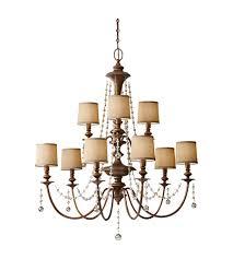 feiss f2725 6 3fg clarissa 9 light 37 inch firenze gold chandelier ceiling light