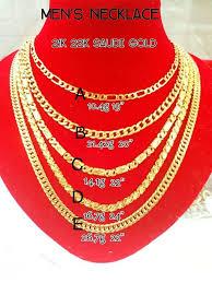 new gold necklace men 21 k man chain 417398 z n afforda philippine uk pendant