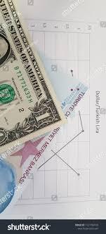 Dollar Lira Chart Dollar Turkish Lira Rate Chart Stock Photo Edit Now 1121789720